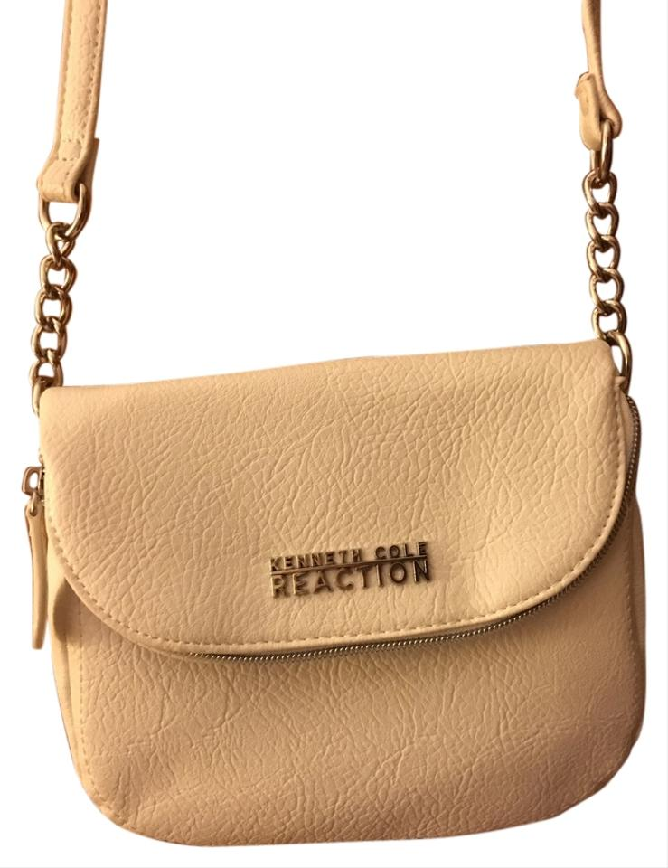 Kenneth Cole Reaction Faux Leather Purse Cross Body Bag