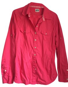 Converse Button Down Shirt Pink