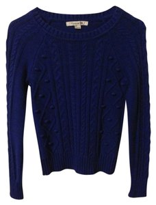 Forever 21 Royal Comfortable Wear To Work Spring Sweater