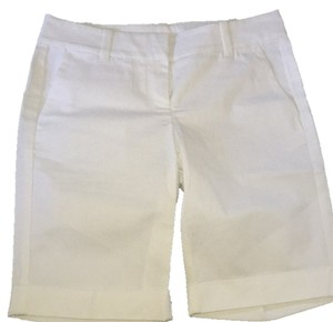 Ann Taylor Dress Shorts White