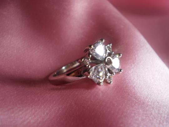 Other New Sparkling Simulated Hearts Diamonds Ring in Stainless Steel