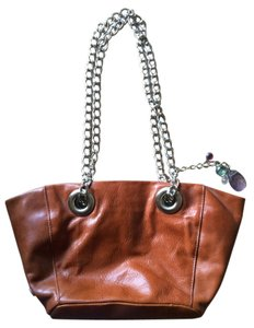 Lisa Kornman Leather Chain Shoulder Bag