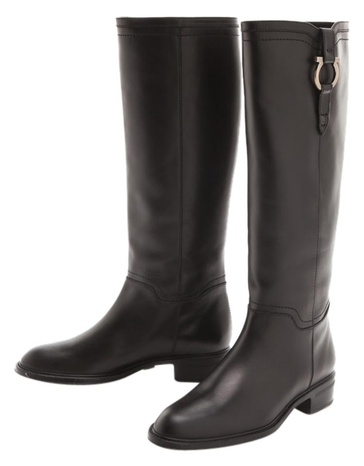 MISS Fersea Salvatore Ferragamo Black Fersea MISS Boots/Booties Rich on-time delivery c7065b
