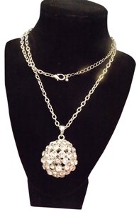 Fashionist Rhinestone Ball Necklace