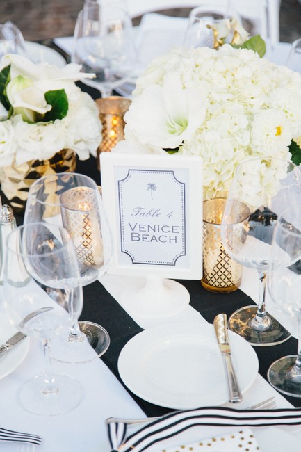 """Item - Black and White 15 Wide Stripe Table Runners 108""""X15"""" Tablecloth"""