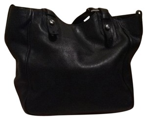 Lamarthe Tote in Black With Silver