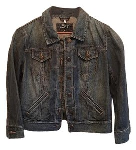 Ann Taylor LOFT Denim Womens Jean Jacket