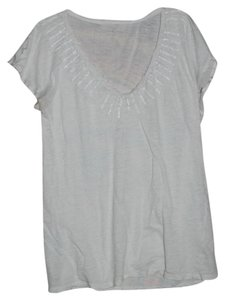 Calvin Klein T Shirt White with small beads