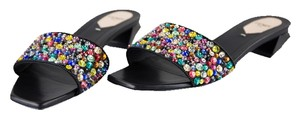 Fendi Black/Multi Flats