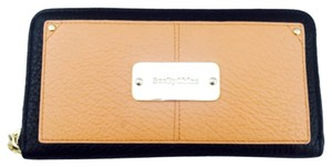 See by Chloé See By Chloe Tan And Black Leather Continental Wallet New With Tags