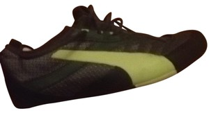 Puma Sneakers Rock Climbing Klim Ripstop Bright Black/Grey/Green/Yellow Athletic