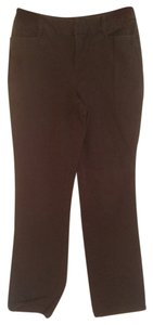St. John Boot Cut Pants Brown