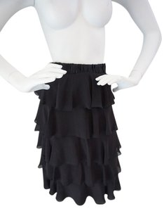 Juicy Couture Evening Layered Skirt Black