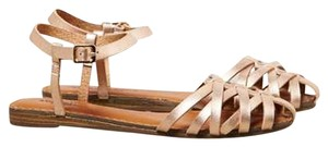 American Eagle Outfitters Rose Gold Sandals