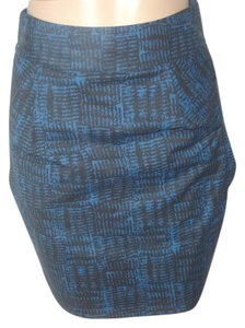 Marc Jacobs Mini Skirt Blue/Black