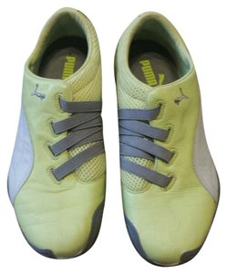 Puma lime green yellow w/grey and white accent Athletic