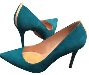 SJP Teal/Turquoise Pumps