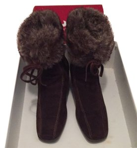 Gioia derossi Fur Italy brown Boots