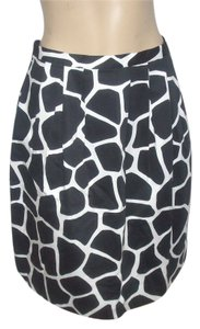 Michael Kors Mini Skirt Black/White