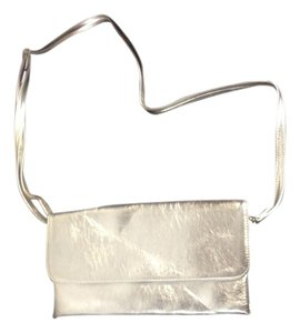 Phillipe Women's classic clutch Silver Clutch