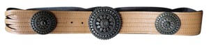Chico's Chicos Faux-Leather Slouch Belt