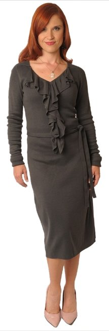Preload https://img-static.tradesy.com/item/7644268/mikarose-new-knit-sweater-ruffle-long-stretch-beverly-gray-xl-above-knee-formal-dress-size-16-xl-plu-0-0-650-650.jpg