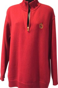 Ralph Lauren Cotton Monogram Sweater