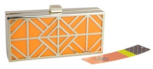 Tory Burch Orange/Gold Clutch