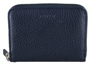 Bally Bally Mebiot Men's Blue Leather Bussiness Card Holder