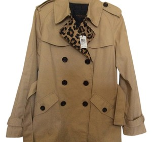 Coach Nwt Trench Ocelot Trench Coat
