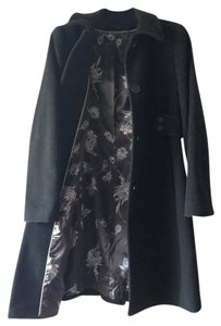 Via Spiga black, floral inside Jacket