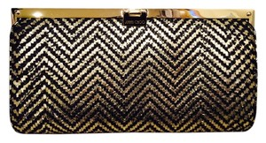 Jimmy Choo Black/Gold Clutch