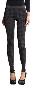 Nikibiki Houndstooth Charcoal Gray Leggings
