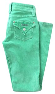 Hudson Jeans Flare Pants Green