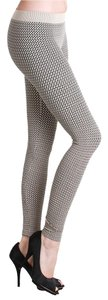 Nikibiki Basket Weave Outfit Style Fall Winter Stone Beige Leggings