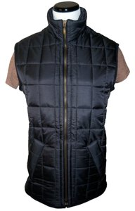 Barbour Quilted Corduroy Nylon Vest