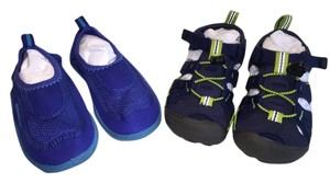 Speedo Little Boys WaterSport Shoe Duo (Size 9-10) (Speedo Surfwalker & Keen Seacamp II CNX [ TommiesCloset ]