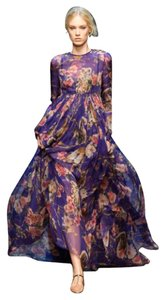 Purple Maxi Dress by Dolce&Gabbana