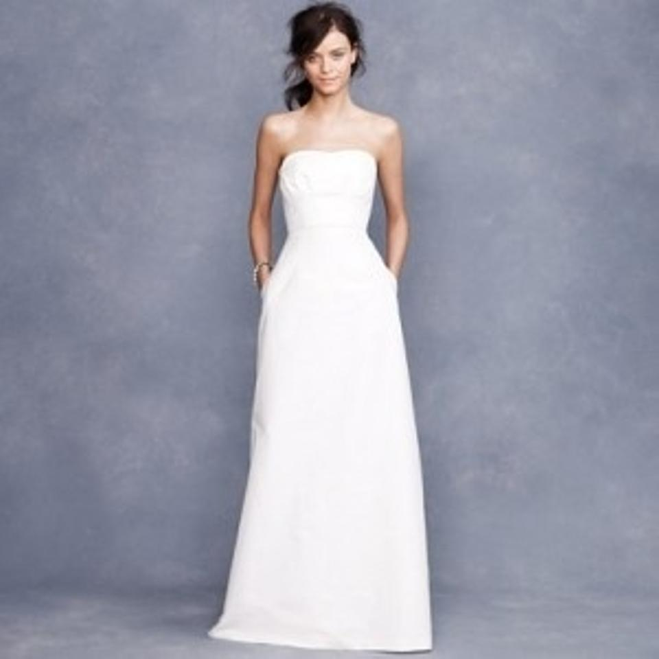 J crew ivory cotton miranda gown destination wedding dress for J crew beach wedding dress