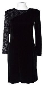 Liz Claiborne Velvet Burnout Mesh Sexy Dress