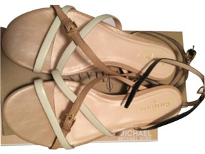 Cole Haan Beige brown off white Sandals