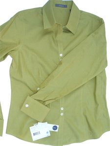 Liz Claiborne Button Down Shirt Green