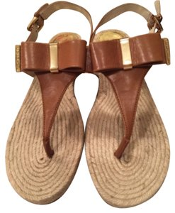 Michael Kros Brown leather Sandals