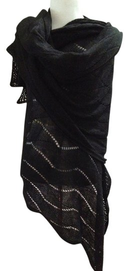 Preload https://item3.tradesy.com/images/black-knit-warm-mohair-scalloped-shawl-scarfwrap-7648582-0-2.jpg?width=440&height=440