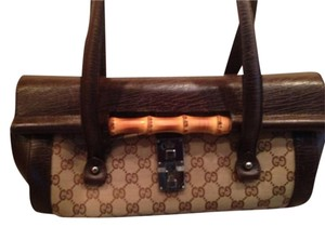 Gucci Bamboo Satchel in Brown