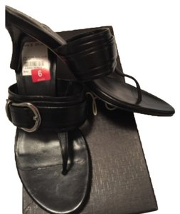 Cole Haan Black leather Sandals
