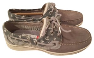 Sperry Gray leather Athletic