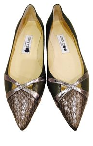 Jimmy Choo Grey Flats