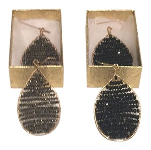 Customed made faceted black spinel & pyrite goldfilled earrings only for $75 each pair.
