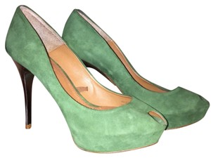 Zara Green Platforms